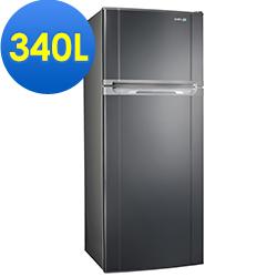 SAMPO聲寶 340L 1級變頻2門電冰箱 SR-A34D(S3) 不鏽鋼