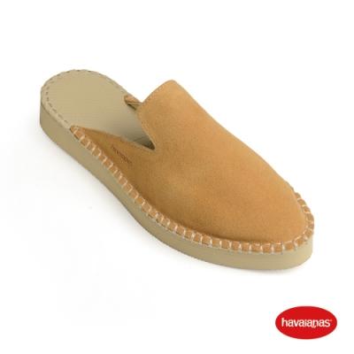 Havaianas 哈瓦仕 平底鞋 懶人鞋 穆勒鞋 巴西 女鞋 沙灰 4145574-0154L Mule Loafer- Flatorm