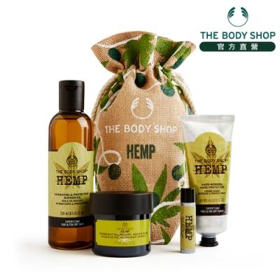 The Body Shop 大麻籽密集修護典藏原裝禮盒