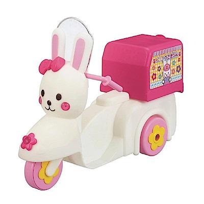 日本PILOT 小美樂娃娃配件 外送摩托車附安全帽 PL51384 原廠
