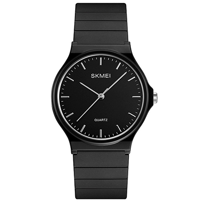 SKMEI 時刻美1419-簡約刻度錶盤潮流網紅手錶(2色任選)
