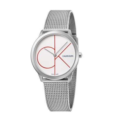 Calvin Klein CK 經典風格米蘭帶腕錶小碼(K3M52152)35MM