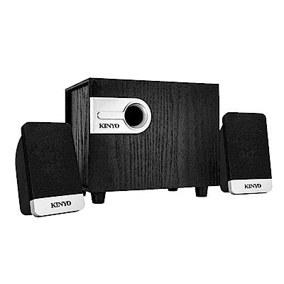KINYO 2.1聲道3D精緻木質音箱喇叭/音響(KY-1701)下置式震撼