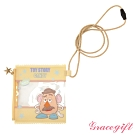 Disney collection by Gracegift玩具總動員透明萬用包 黃