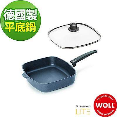 德國WOLL Diamond Lite Induction新鑽石系列方型平底鍋