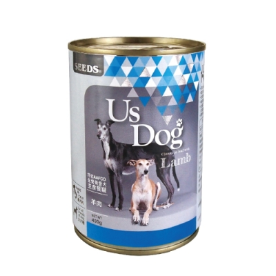 SEEDS聖萊西 Us Dog愛犬主食餐罐 (羊肉風味) 400g