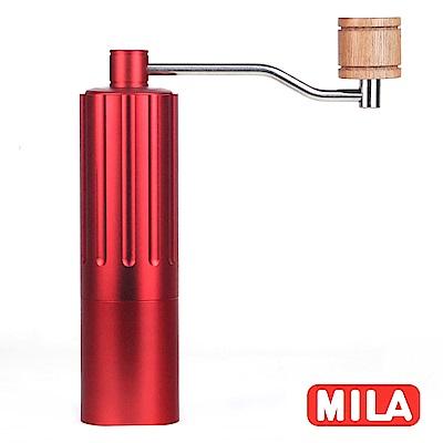 MILA 達人攜帶型手搖磨豆機(不鏽鋼磨芯)-加贈不鏽鋼咖啡濾網