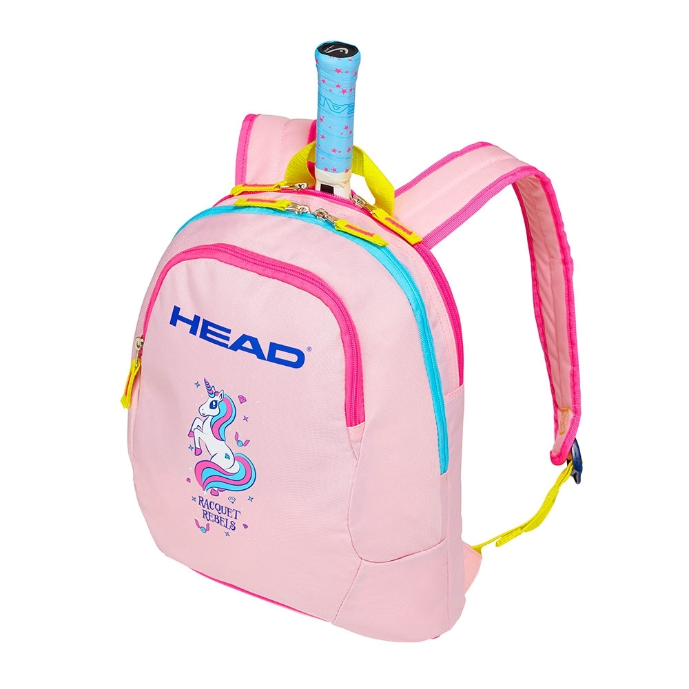 HEAD 魔法獨角獸 兒童運動後背包/球拍袋 (粉黃) 283629