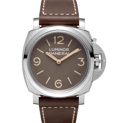 (無卡分期24期)PANERAI 沛納海 PAM00663 復刻版棕色面盤-47mm @ Y!購物