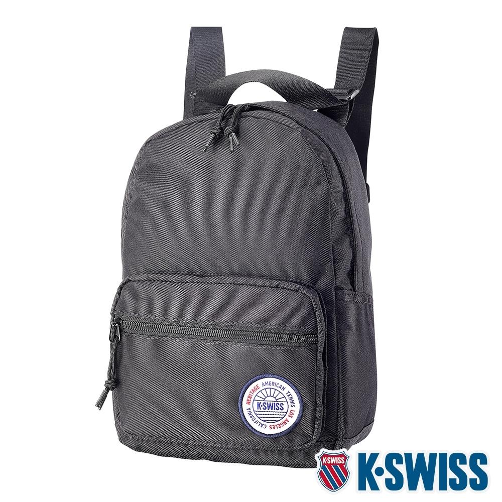K-SWISS Sunshine Small Backpack休閒後背包-黑