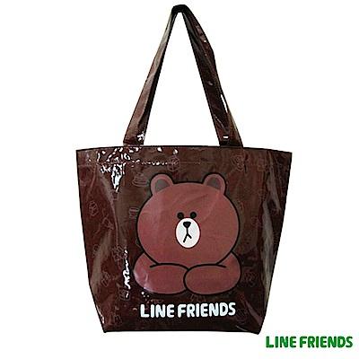 LINE-FRIENDS-熊大輕質造型萬用袋-LI