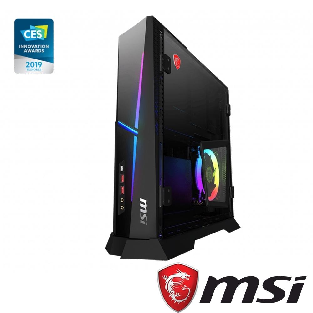 MSI微星 Trident X Plus-617電競電腦(i7-9700KF/32G)