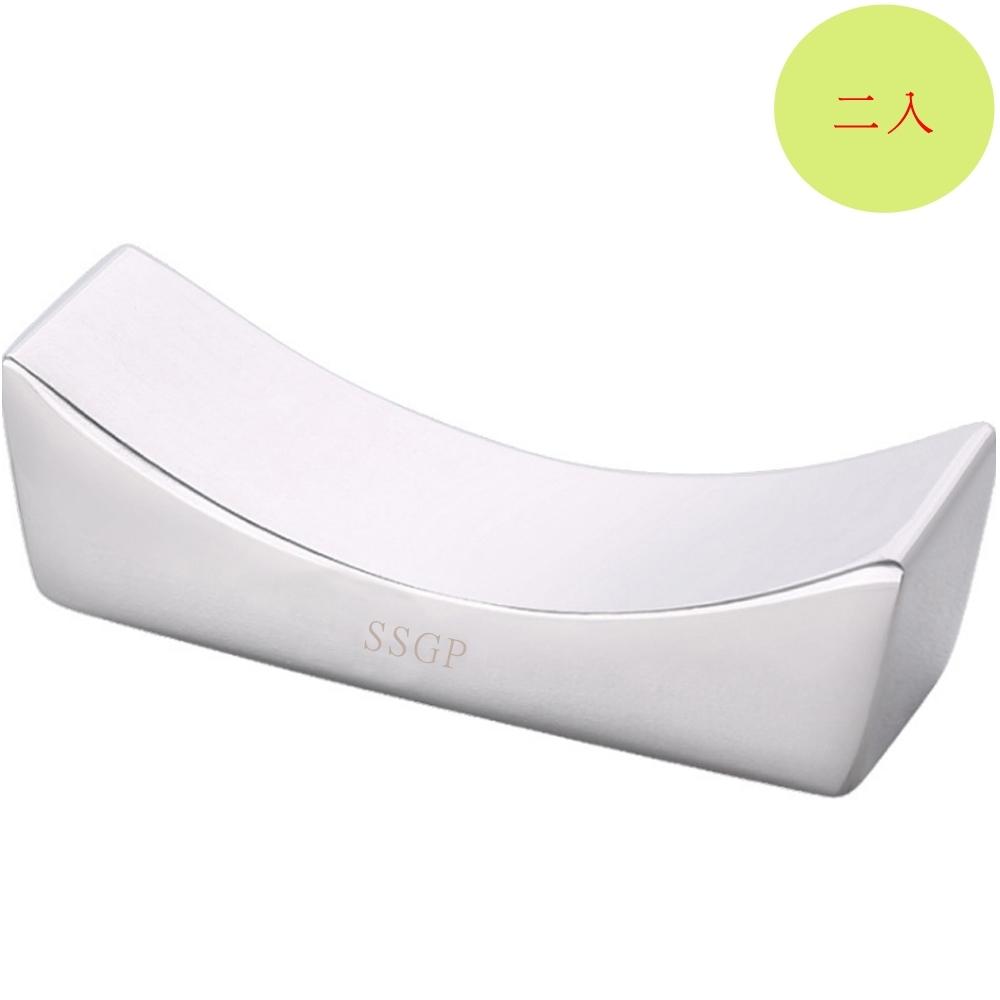 PUSH!餐具304不銹鋼筷子架筷子托筷枕(2入組)E130