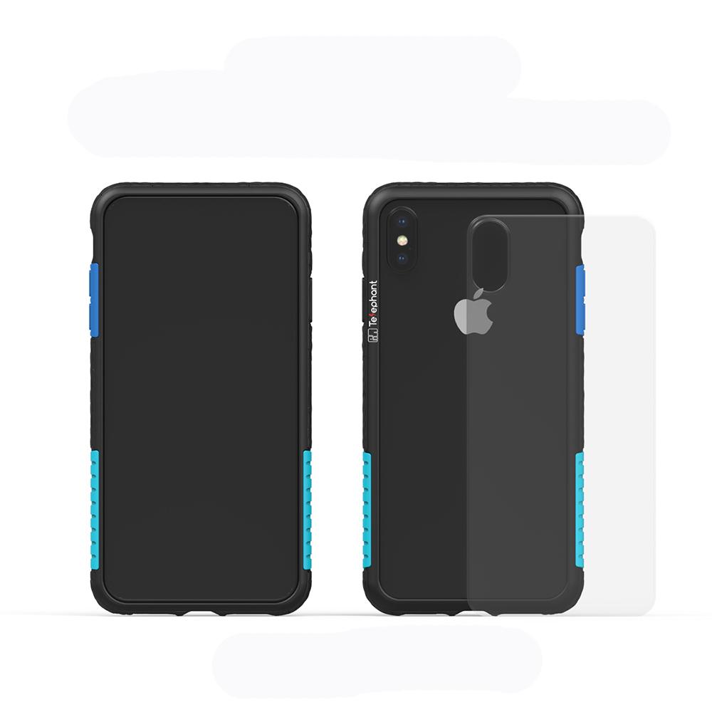 Telephant太樂芬 NMD iPhone X/XS  黑-配聖保羅(附背蓋) @ Y!購物