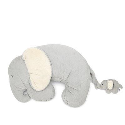 【Mamas & Papas】大象勾勾鼻(枕墊附手搖鈴)