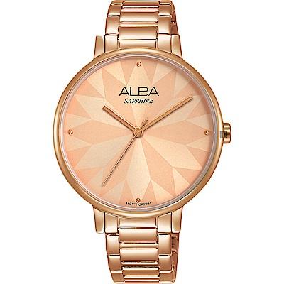 ALBA雅柏 Fashion 幾何造型女錶(AVH8570X1)-36mm