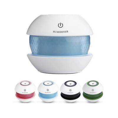 【LOTUS】魔鑽空氣加濕器 七彩夜光超音波加濕器