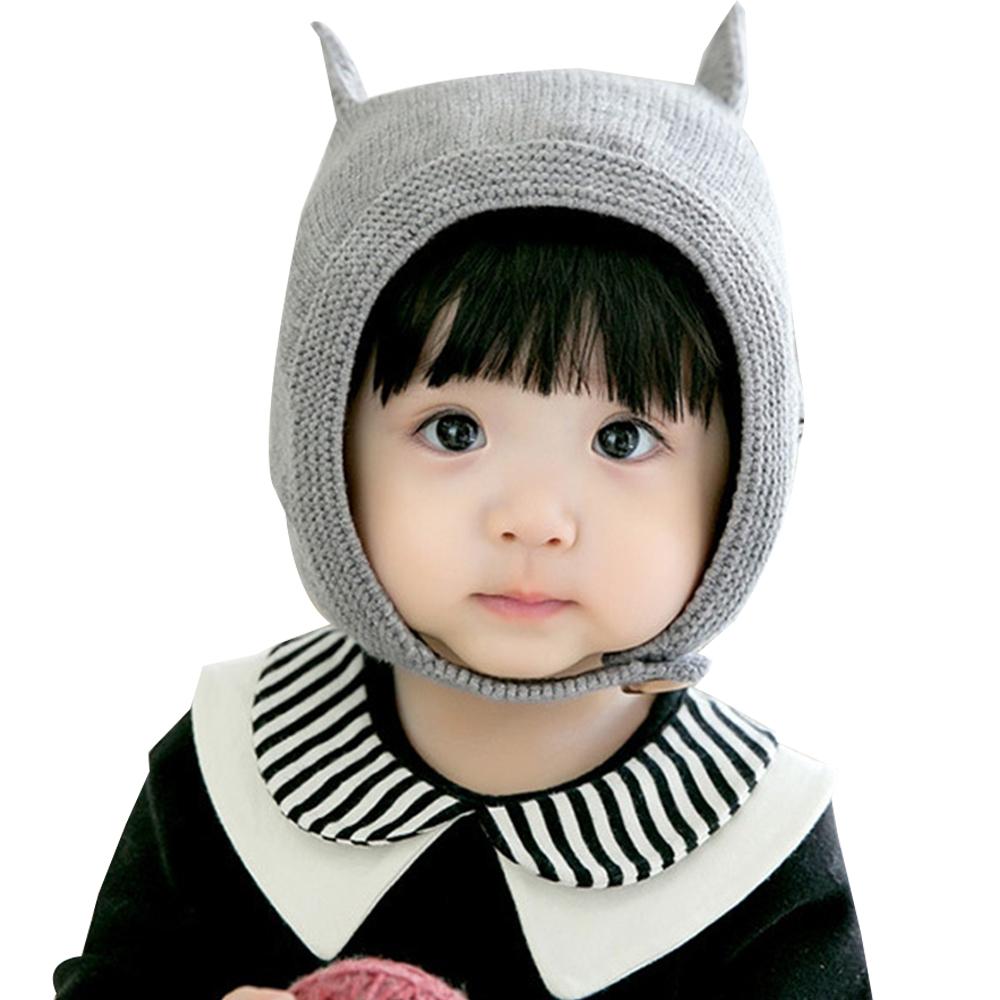 JoyNa 可愛貓咪耳朵造型保暖帽 帽子毛線帽