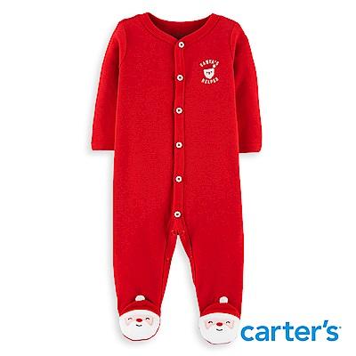 Carter's 聖誕老人造型連身裝