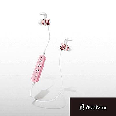 audivox 運動藍牙耳機 隨身聽-粉