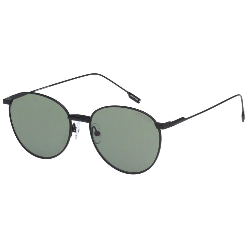 VEDI VERO 圓框 太陽眼鏡 (黑色)