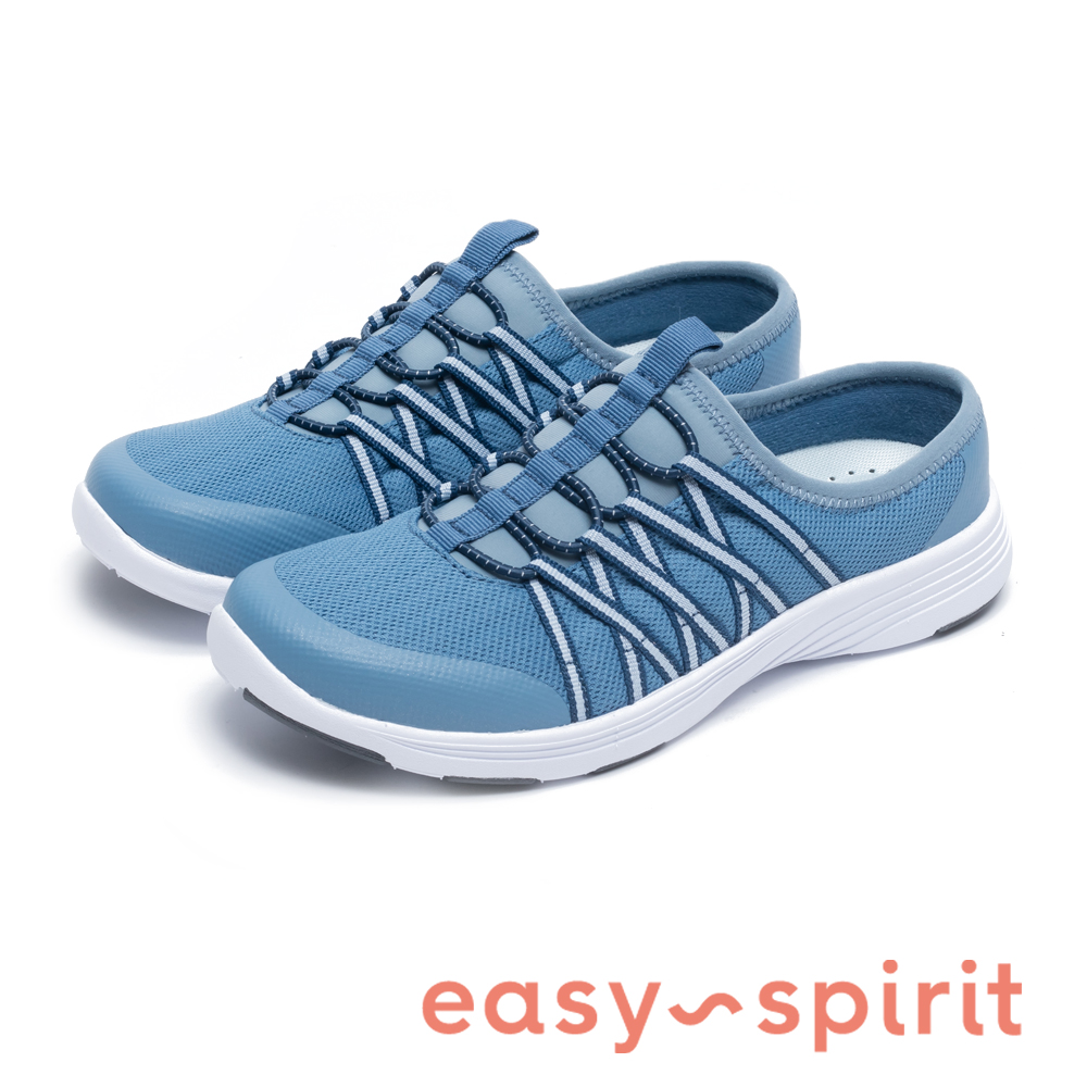 Easy Spirit LOUNGIN2 舒適彈性帶運動休閒鞋-紋籃
