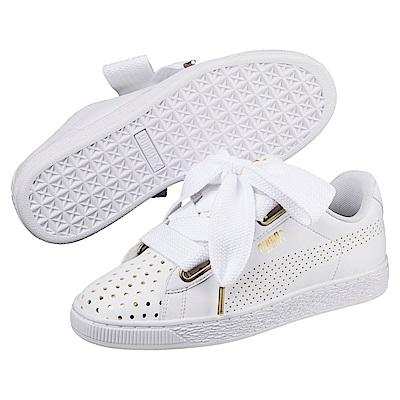 PUMA-Basket Heart Ath Lux女籃球運動鞋-白色