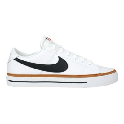 NIKE COURT LEGACY 男休閒鞋-經典 低筒 網球 CU4150102 白黑棕