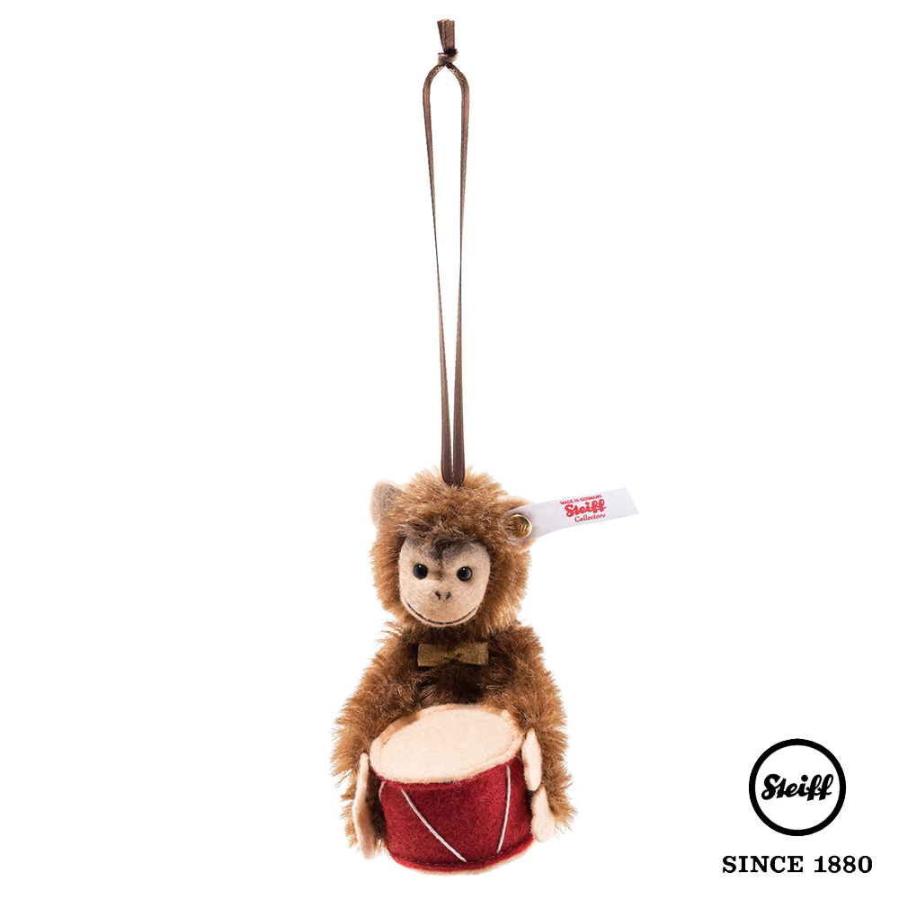 STEIFF德國金耳釦泰迪熊 猴子Jocko 掛飾(限量版吊飾)