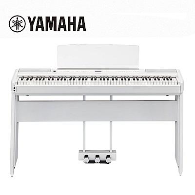 YAMAHA P515 WH 88鍵標準木質琴鍵電鋼琴 旗艦機種 典雅白色