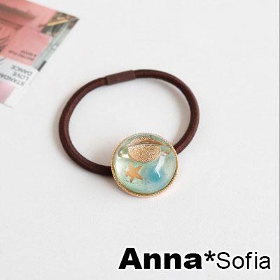 AnnaSofia 彩遊星球 純手工彈性髮束髮圈髮繩(嫩綠系)