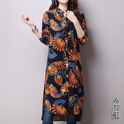【韓國K.W.】激殺價兼具流行設計花卉上衣洋裝(4款可選)