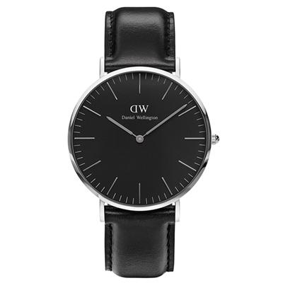 DW Daniel Wellington 時尚經典黑面款(DW00100145)x36mm