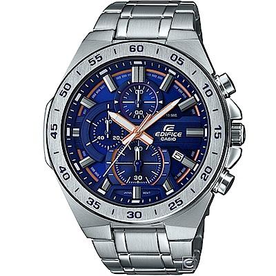 CASIO EDIFICE 三眼設計競速腕錶(EFR-564D-2A)藍/48.9mm