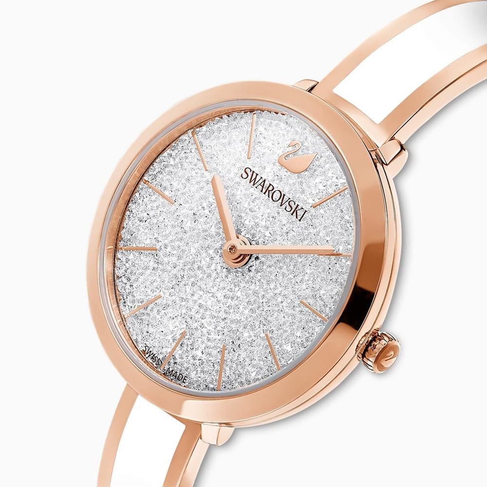 SWAROVSKI施華洛世奇 CRYSTALLINE DELIGHT 北極之星腕錶 5580541