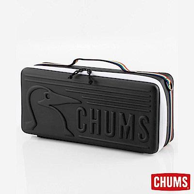 CHUMS - 日本 Booby Slim 窄版收納盒 黑