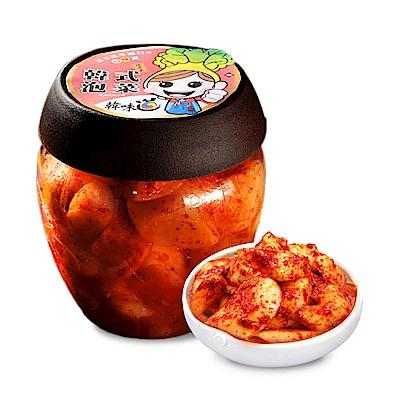 韓味不二 韓味道泡菜系列-辣味醋蘿蔔700g