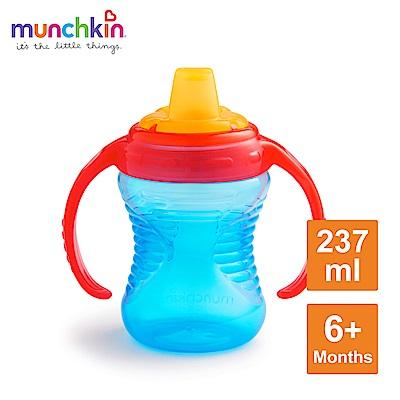 munchkin滿趣健-好握鴨嘴防漏練習杯237ml-多色