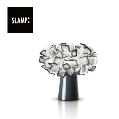 【SLAMP】CLIZIA TABLE 造型桌燈 (黑/橘/紫/白)