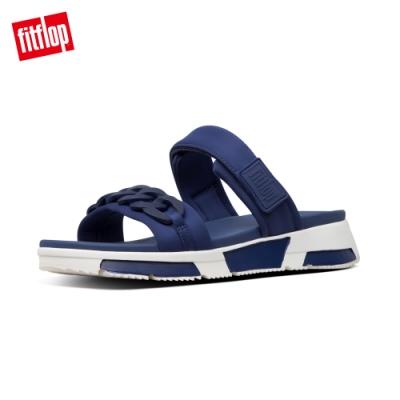 FitFlop HEDA CHAIN SLIDES 運動風涼鞋-女(午夜藍)