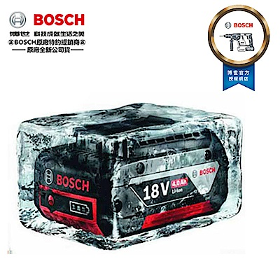 BOSCH 18V 4.0Ah 鋰電池 (電量顯示) 滑軌式 GDR18V,GSR18V