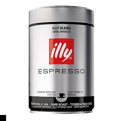 illy 深烘焙咖啡粉 250g