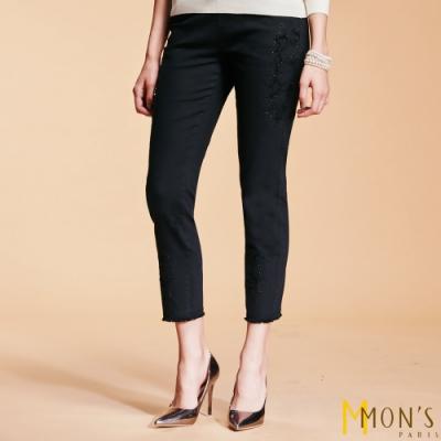 [時時樂限定]MONS 彈性牛仔筒褲(多款/多色)