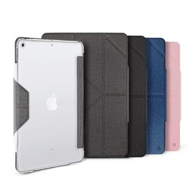 JTL / JTLEGEND 2021 iPad 9 Amos 10.2吋 相機快取多角度折疊布紋皮套(無筆槽_有磁扣)