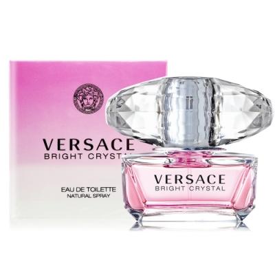 Versace 凡賽斯 香戀水晶淡香水 Bright Crystal 50ml EDT-公司貨