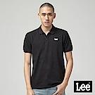 Lee 短袖小LOGOPOLO衫-黑