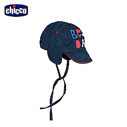 chicco-To Be Baby- 牛仔護耳帽