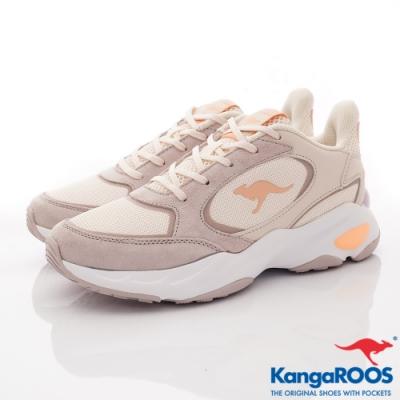 KangaROOS SMOOTHY 潮流運動鞋-01151奶茶色(女段)