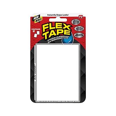 美國FLEX TAPE 強固型修補膠帶 迷你隨手包- 白色 7.65*10.2 cm