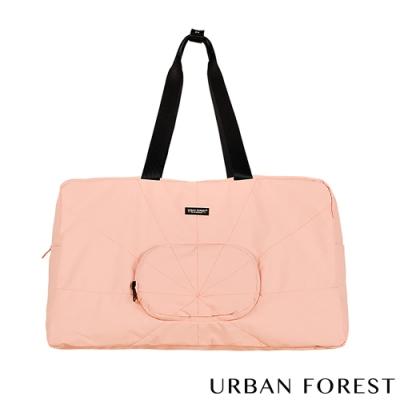 URBAN FOREST都市之森 樹-摺疊旅行包/旅行袋 櫻花粉